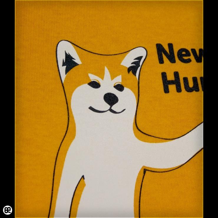 Akitainu : ゴールドイエロー:Tシャツ