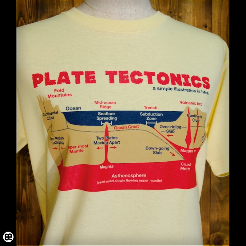 地殻変動 : イエローヘーゼ:Tシャツ