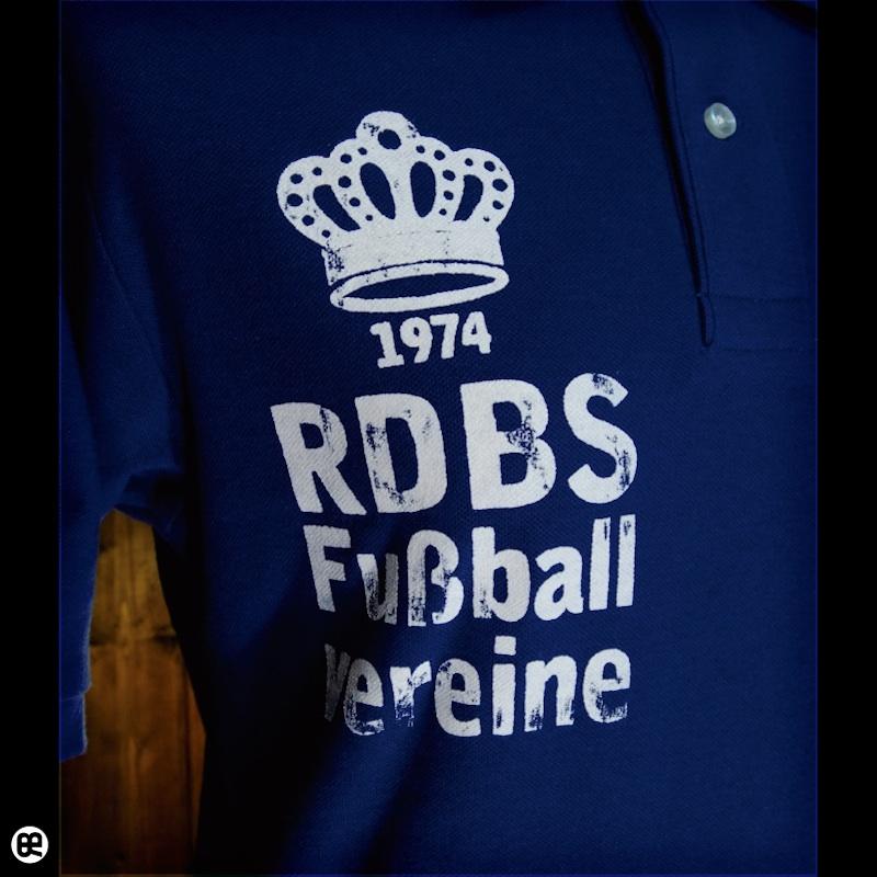 ポロシャツ:FussBall : コバルトブルー