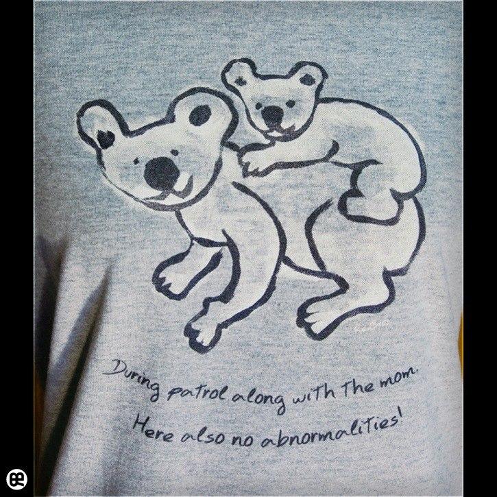 パトロール : ヘザーグレー:Tシャツ