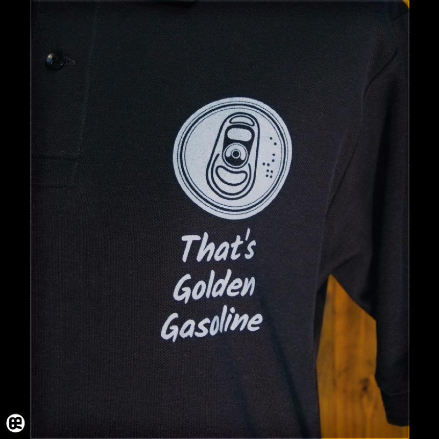 ポロシャツ:Golden Gasoline : スミ