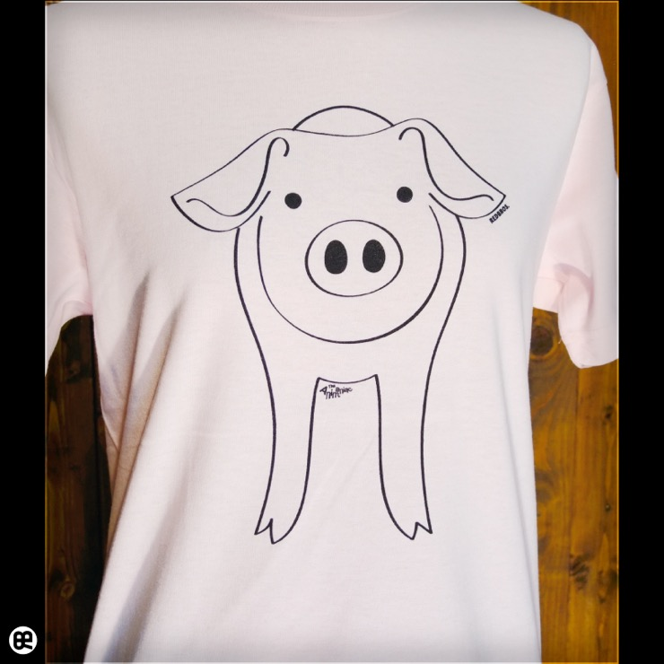 子豚 : フロストピンク:Tシャツ