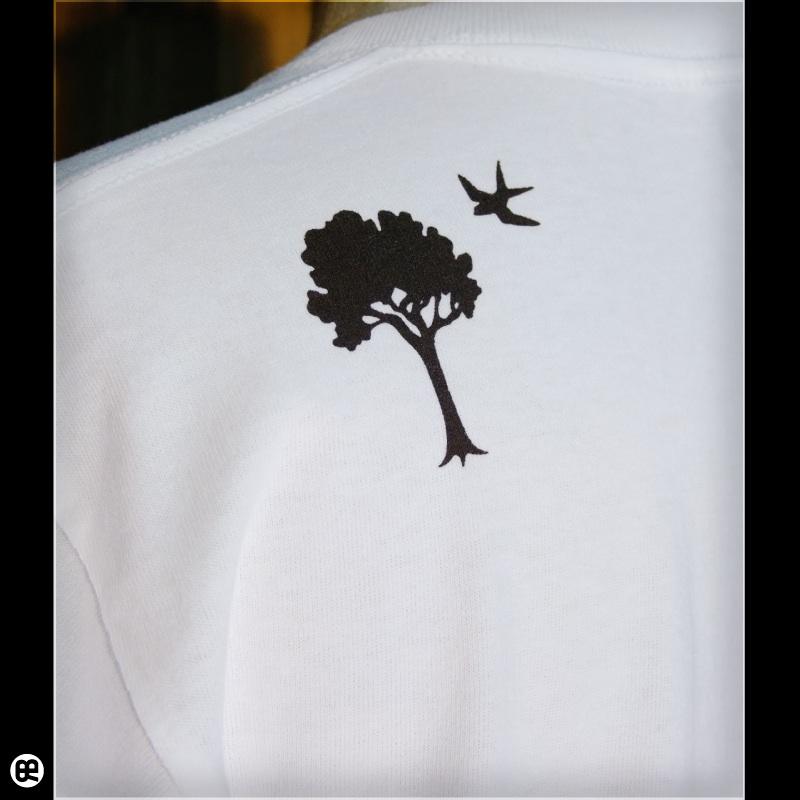 microwave WH : ホワイト:Tシャツ