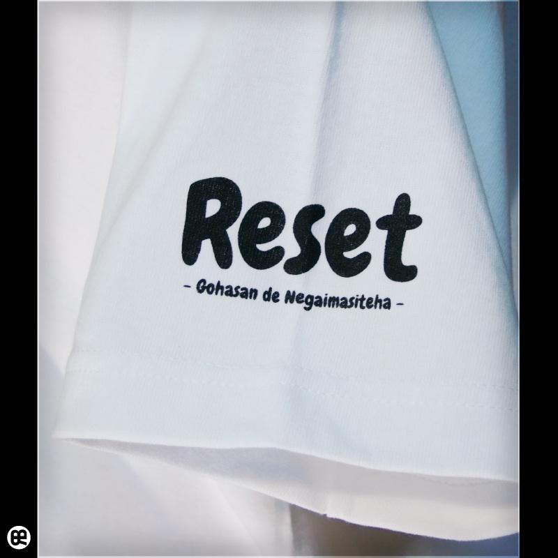算盤 : ホワイト:Tシャツ