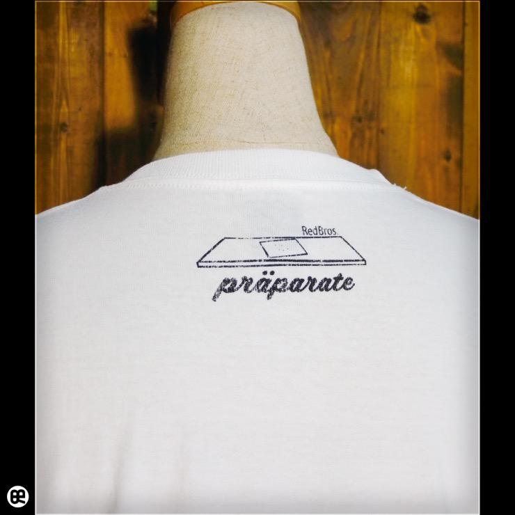 microscope : ホワイト:Tシャツ