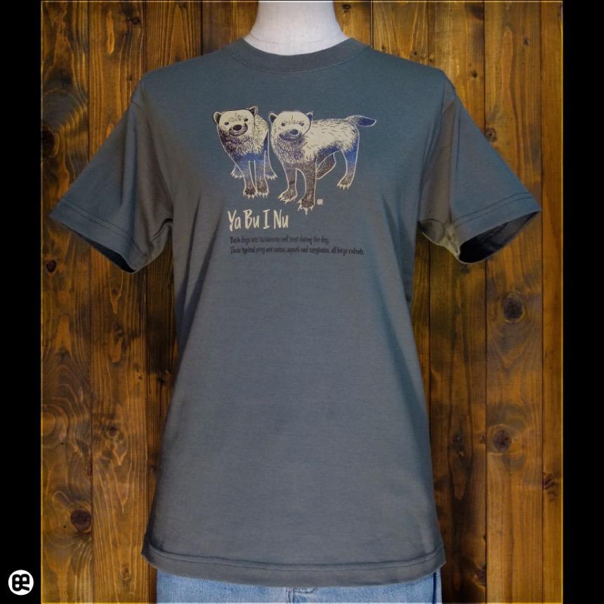 ヤブイヌ:アーミーグリーン:Tシャツ