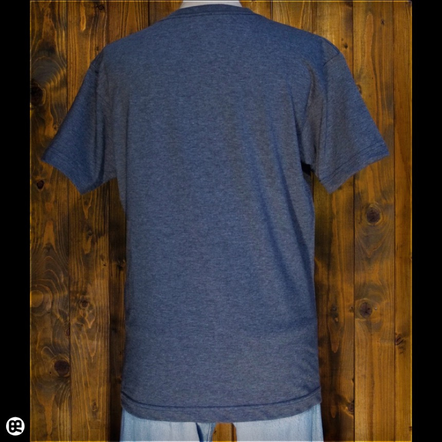 月見うどん:チャコール:Tシャツ