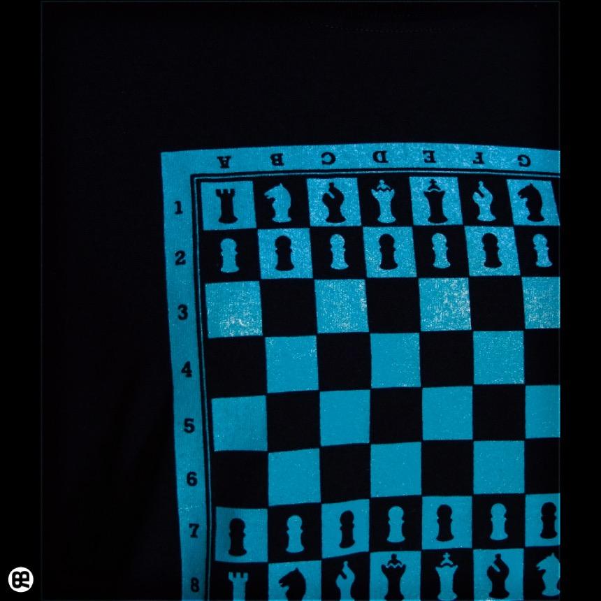 チェス:ディープブラック:Tシャツ