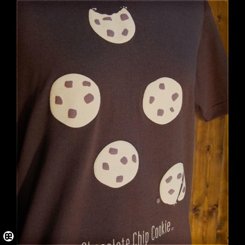 チョコチップクッキー:ブラウン:Tシャツ