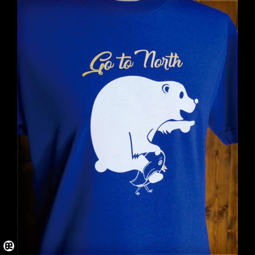 Go to North:ロイヤルブルー:Tシャツ