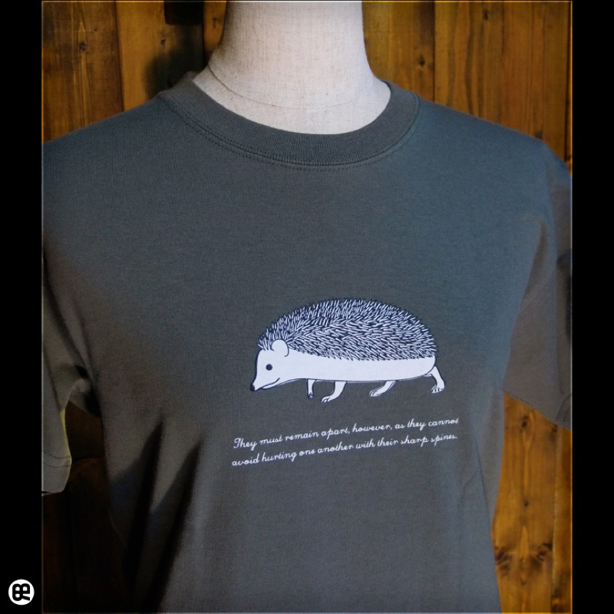 棘:アーミーグリーン:Tシャツ