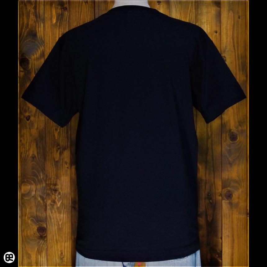 ブン八郎:ブラック:Tシャツ