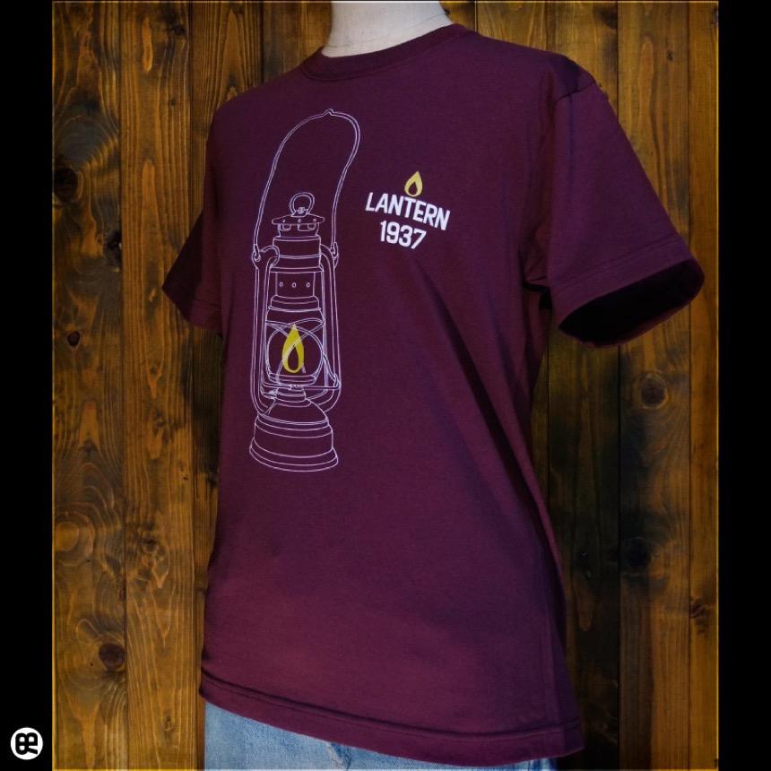 Lantern:バーガンディ:Tシャツ