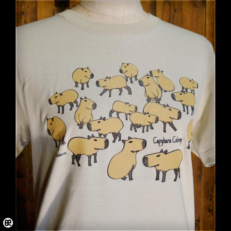 カピの群 : ストーン:Tシャツ