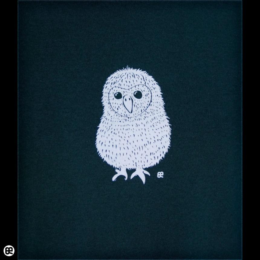 まるいとり:フォレストグリーン:Tシャツ