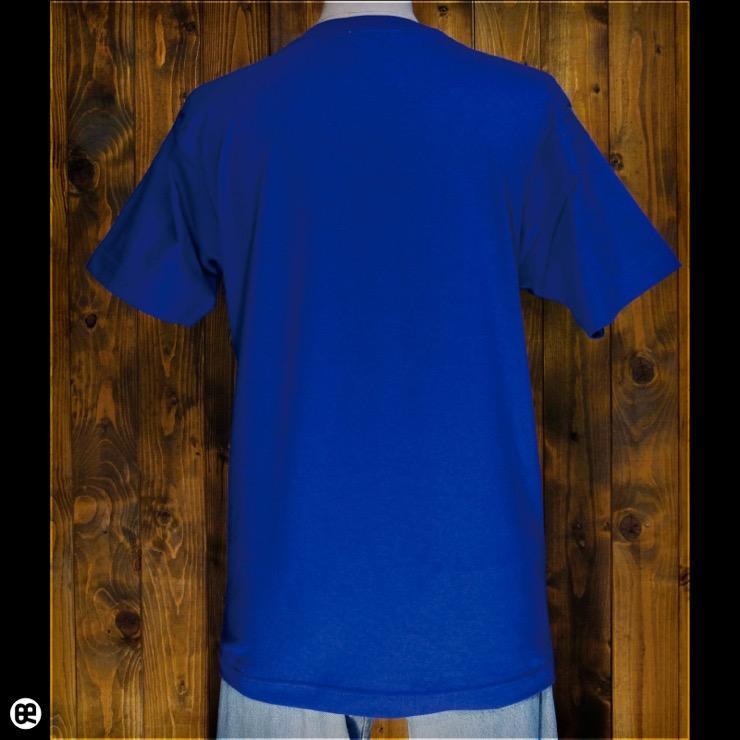 いエーイ!:ロイヤルブルー:Tシャツ