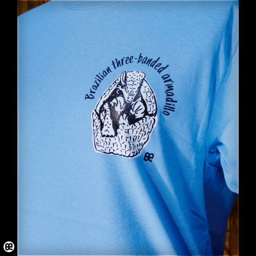アルマジロ:エアーブルー:Tシャツ