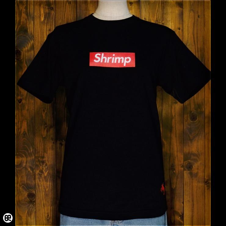 Shrimp : ディープブラック:Tシャツ