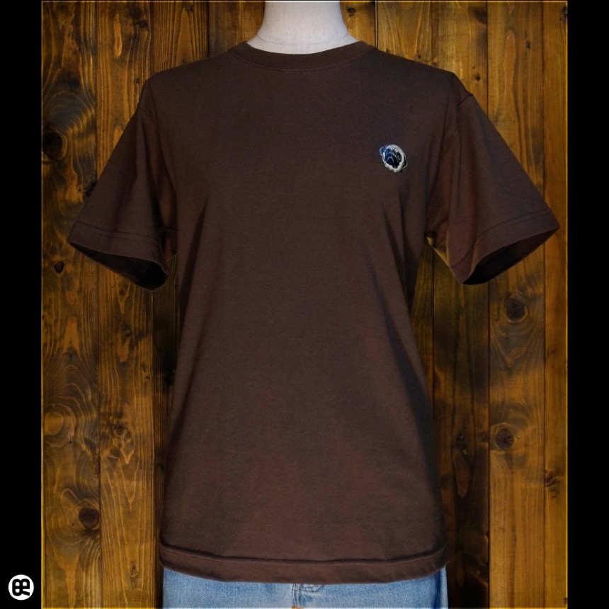 パグ:ブラウン:Tシャツ