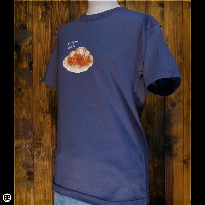 Butter Roll:ダークグレー:Tシャツ