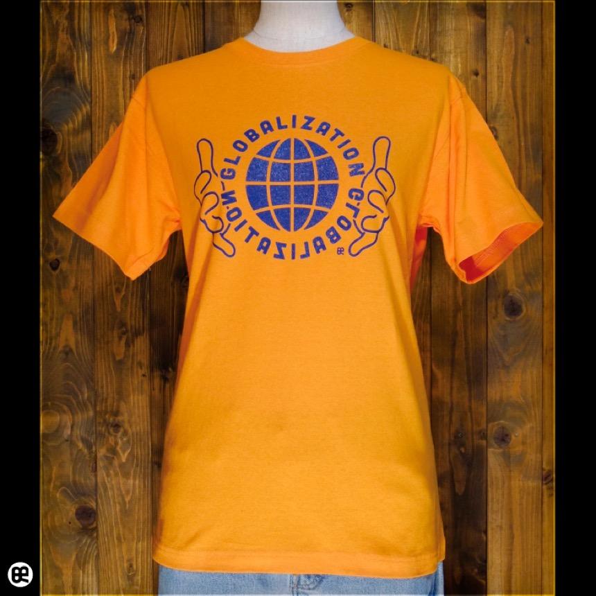 Globalization:マンダリンオレンジ:Tシャツ