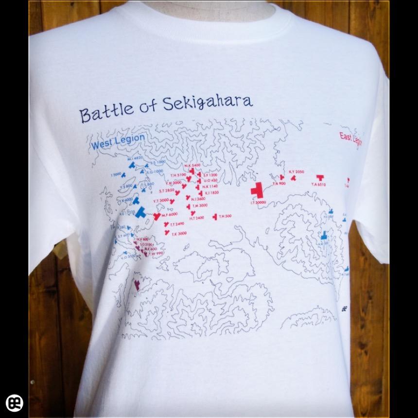 せきがはら:ホワイト:Tシャツ