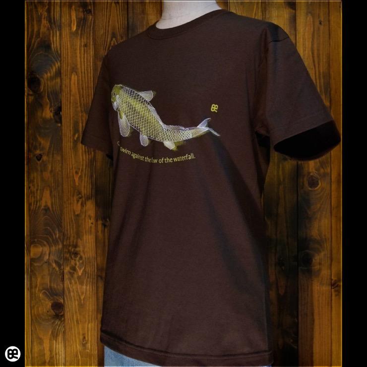 KOI:ブラウン:Tシャツ