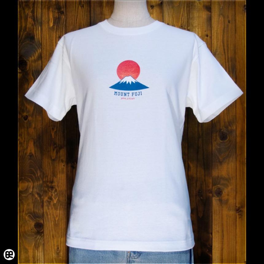 富士山:ナチュラル:Tシャツ