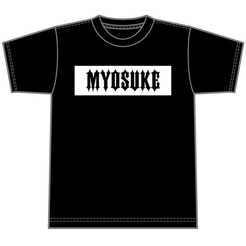 DJ MyosukeロゴTシャツ