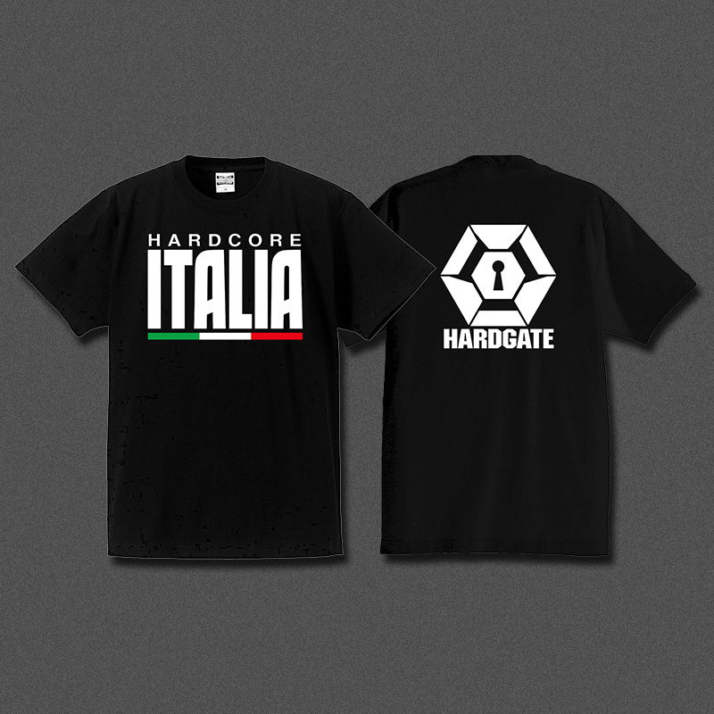 HARDCORE ITALIA × HARDGATE コラボTシャツ