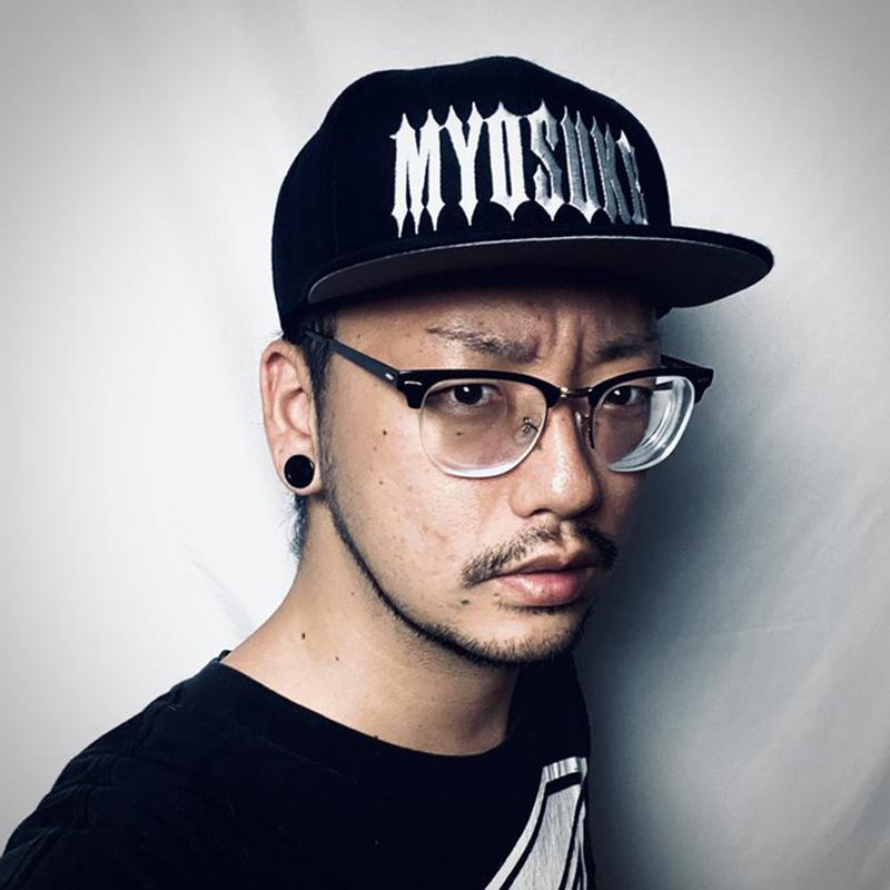 DJ Myosuke ロゴキャップ