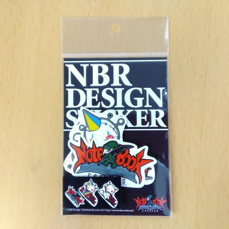 NBR DESIGN STICKER SET A+B