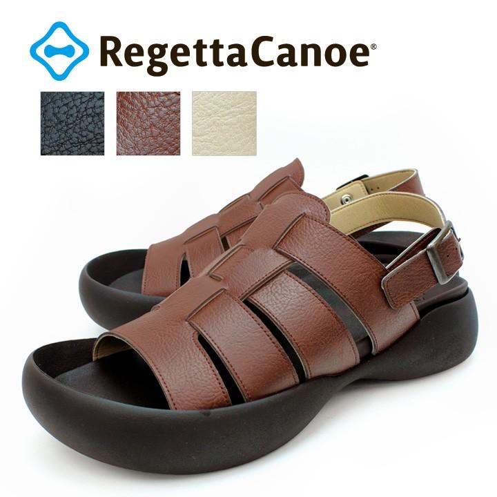 リゲッタカヌー RegettaCanoe CJOS-8501 メンズ サンダル グルカサンダル 歩きやすい 履きやすい 編み込み 日本製 バックストラップ