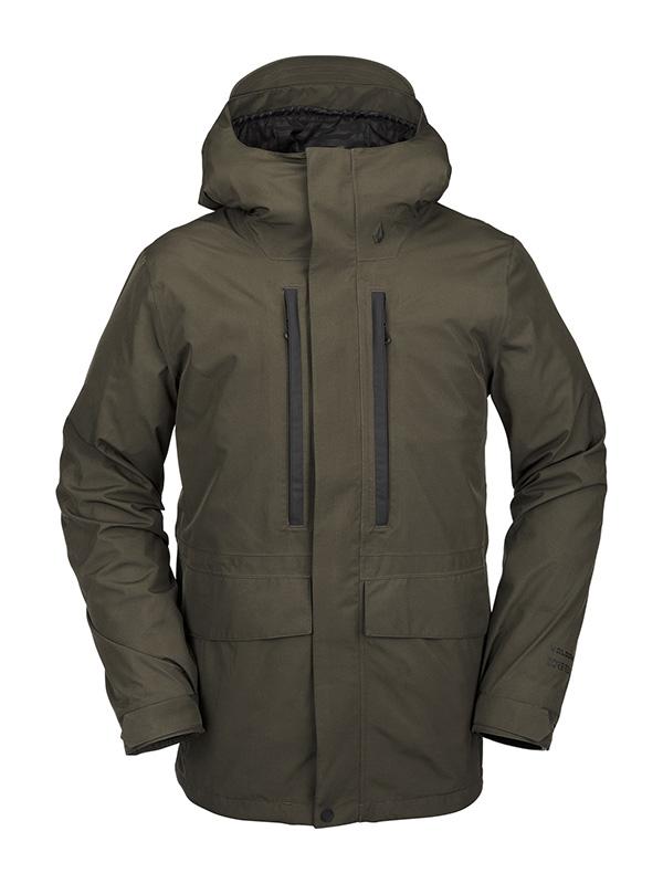 VOLCOM ボルコム メンズ スノーボードウェア スノージャケット G0452113 Ten Ins Gore-Tex Jacket