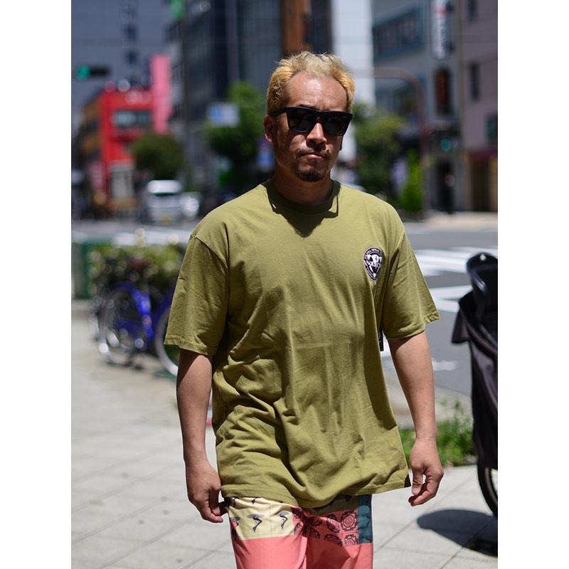 VOLCOM ボルコム メンズ アジアンフィットTシャツ 半袖 AF012101 Apac Roadie S/S Tee [OLM]