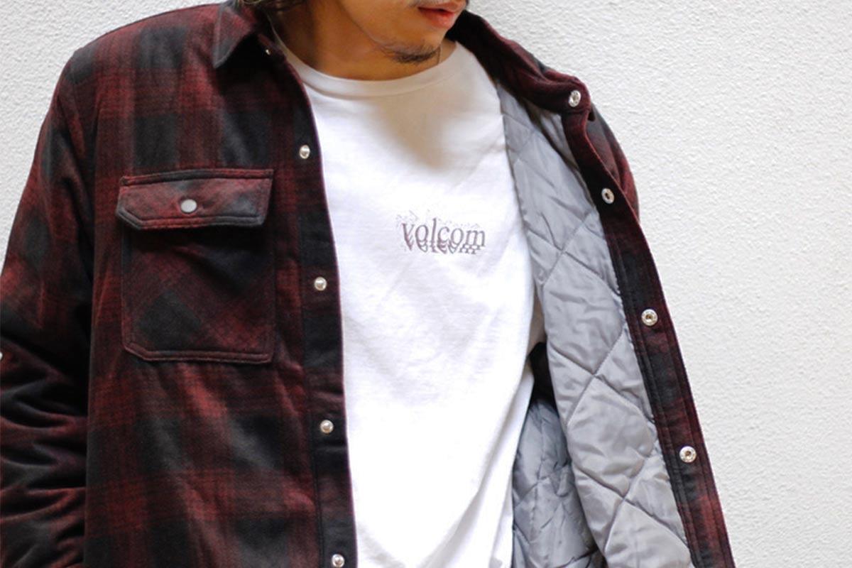 【Halloween Trick Price 15%OFF】 VOLCOM ボルコム メンズ フリースシャツジャケット A5832101 Bowered Polar Fleece LS [POR]