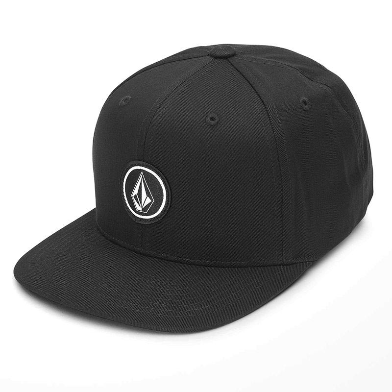 VOLCOM ボルコム ボーイズ(8-14才) キャップ スナップバック 帽子 F5532103 Quarter Twill Youth [BLK]