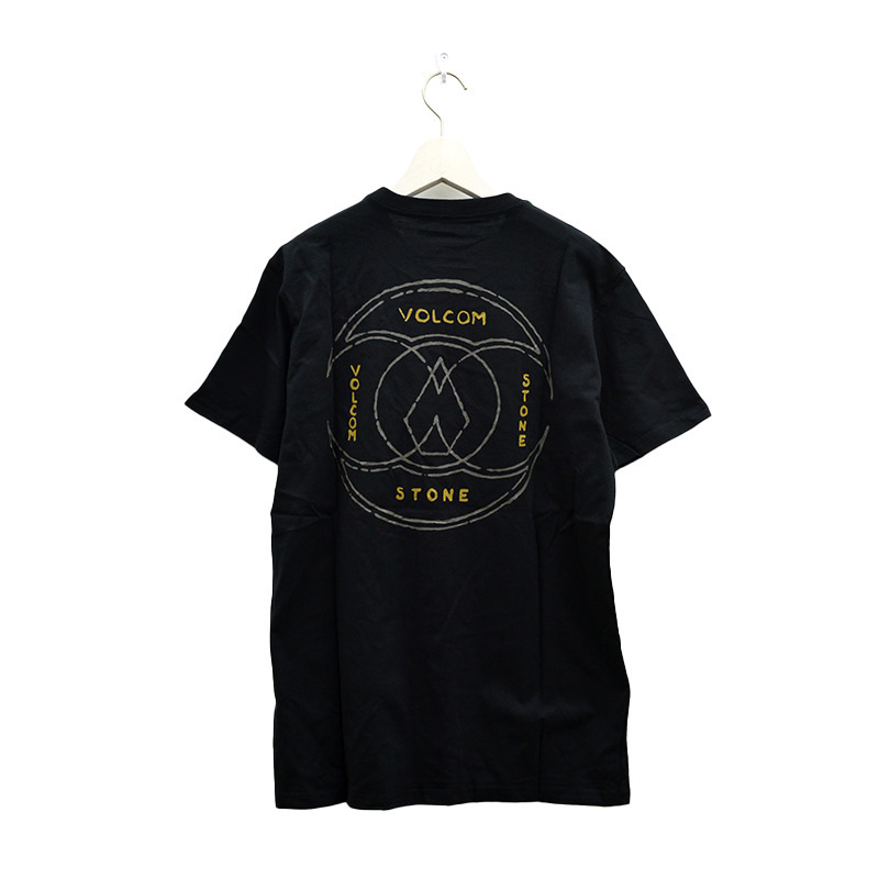 VOLCOM ボルコム メンズ アジアンフィットTシャツ 半袖 AF012106 Apac Inner Stone S/S Tee [BLK]