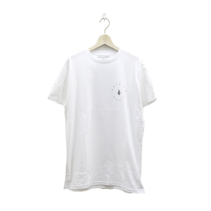 【30%OFF】 VOLCOM ボルコム メンズ アジアンフィットTシャツ 半袖 AF522102 Apac Bird S/S Tee [WHT]