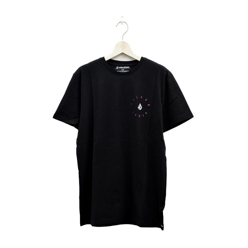 VOLCOM ボルコム メンズ アジアンフィットTシャツ 半袖 AF522102 Apac Bird S/S Tee [BLK]