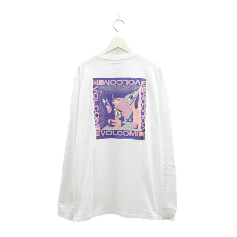 VOLCOM ボルコム メンズ アジアンフィットロングスリーブTシャツ ロンT AF612108 Apac M. Loeffler FA LS [WHT]