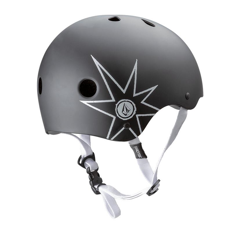 【受注アイテム】PRO-TEC プロテック x VOLCOM ボルコム ヘルメット スケートボード Classic Skate LUMINATOR