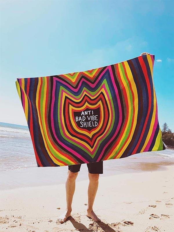 VOLCOM ボルコム ビーチタオル バスタオル D6742075 Ozzie Towel [MLT]