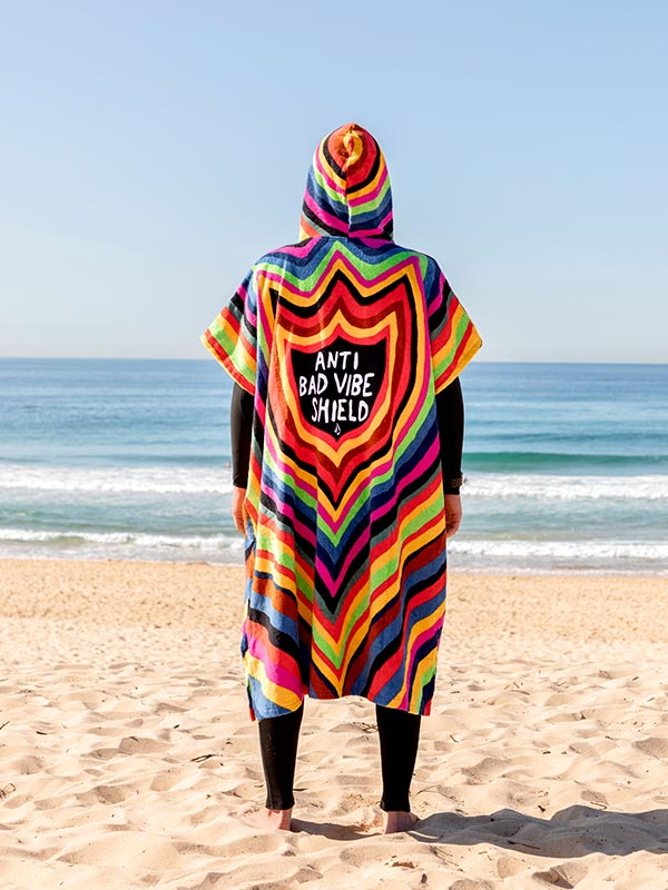 VOLCOM ボルコム ビーチタオル フーデッドタオル ポンチョ D6742180 ABV Hooded Towel [MLT]