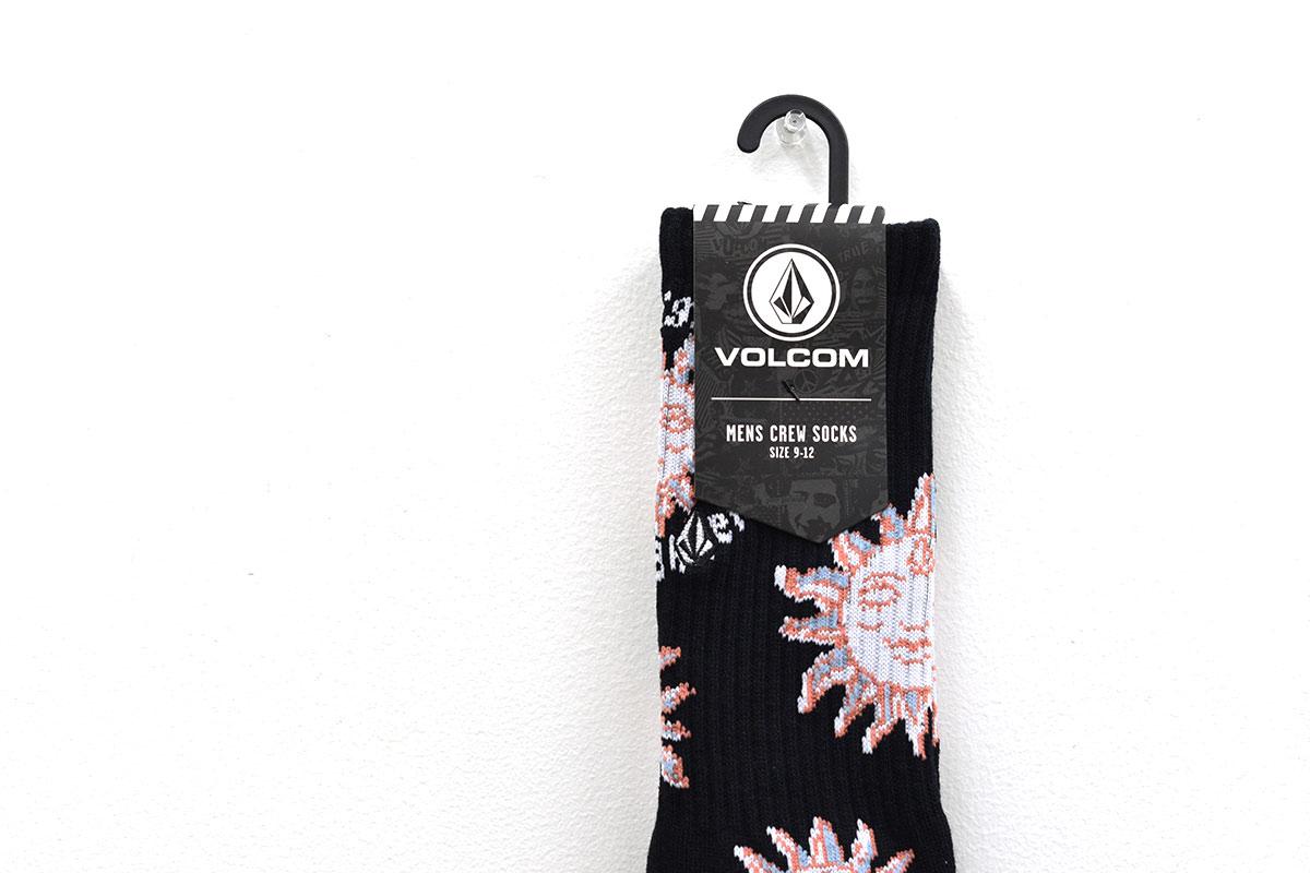 VOLCOM ボルコム メンズ ソックス 靴下 D6302003 Vibes Socks [BKO]