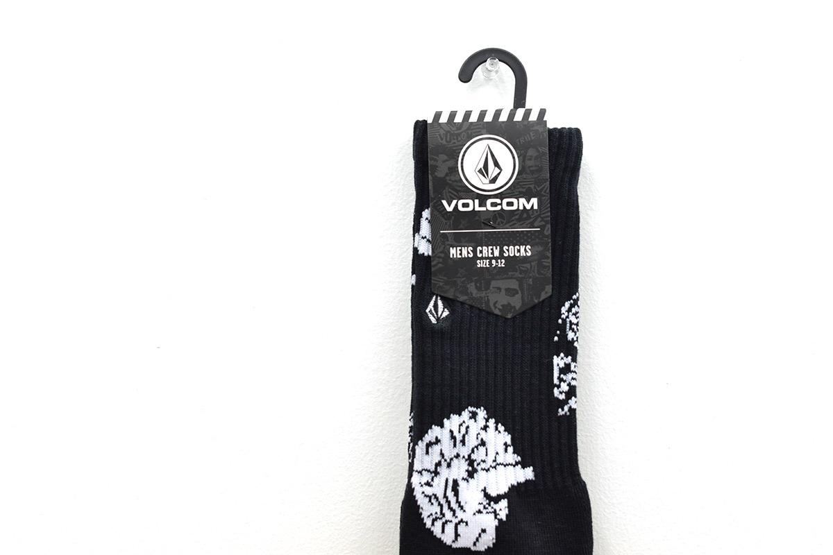 VOLCOM ボルコム メンズ ソックス 靴下 D6302003 Vibes Socks [BKB]
