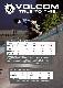 【WINTER SALE 30%OFF】 VOLCOM ボルコム キッズ(3-7才) ラッシュガード 半袖 Y9111800 Lido Solid S/S Little Youth