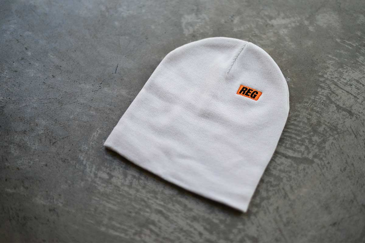 【WINTER SALE 20%OFF】 REGULATOR レギュレイト ビーニー ニット帽 帽子 HOMIES MARK