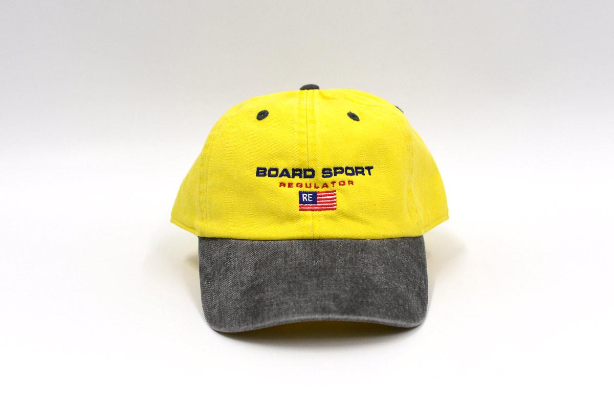 REGULATOR レギュレイト ストラップバックキャップ 帽子 CULTURE CAP [YEL]