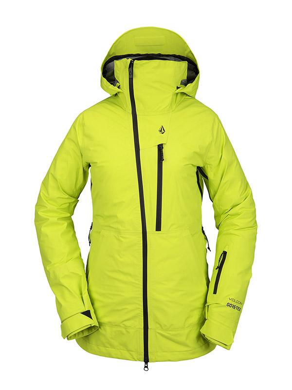 【WINTER SALE 20%OFF】 VOLCOM ボルコム レディース スノーボードウェア スノージャケット H0452100 Nya Tds Inf Gore-Tex Jacket